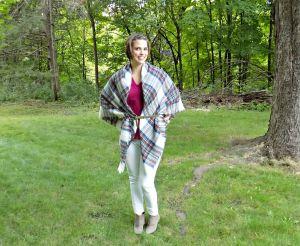 Blanket Scarf 2 w belt